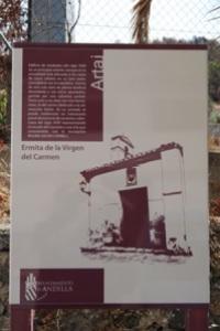 Cartel ermita